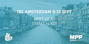 Book a meeting with us at IBC 2016