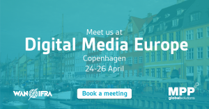 Ana Lobb speaking at Digital Media Europe 2017 in Copenhagen