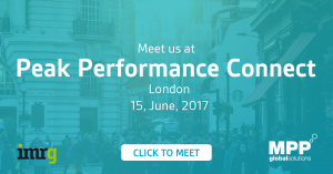 MPP Global attending IMRG Peak Performance Connect Conference 15th June 2017