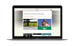 Fulham Sports Subscription screenshot powered by MPP Global