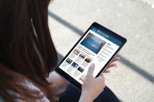 iPad digital newspaper digital subscriber