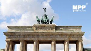 Brandenburg Gate with MPP Global at World Publishing Expo