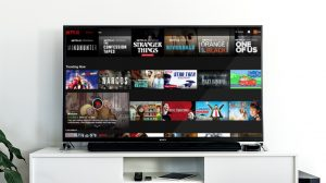 TV showing Netflix Account Group
